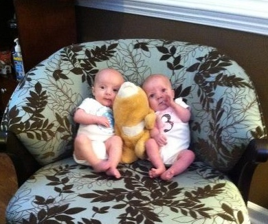 twinsthreemonthbirthday