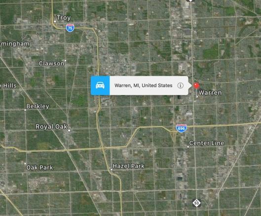 Warren-map
