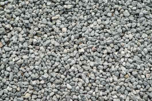 close up dry gravel grey