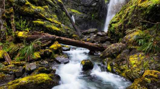 waterfall river photo shot