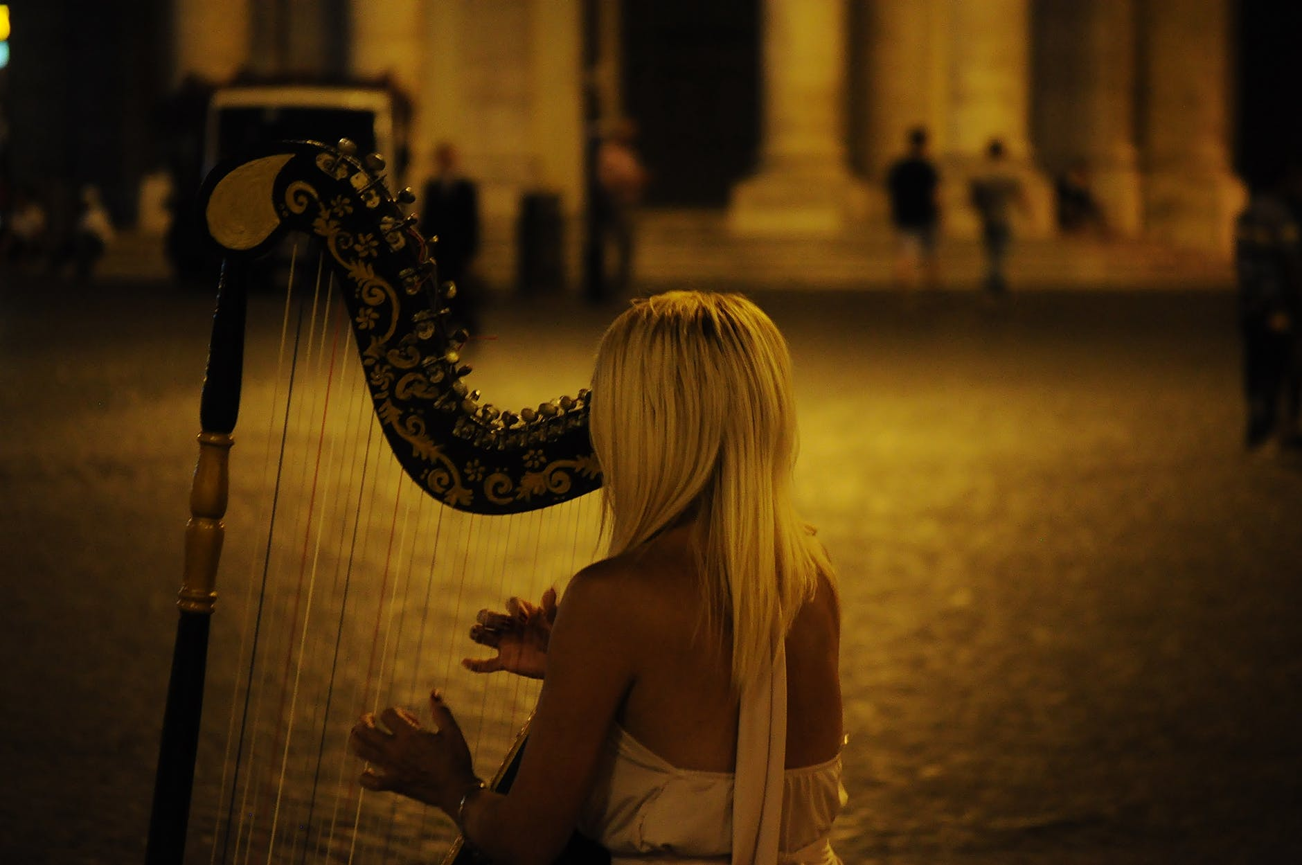 person woman music musician