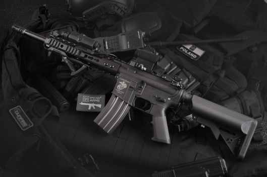 black rifle