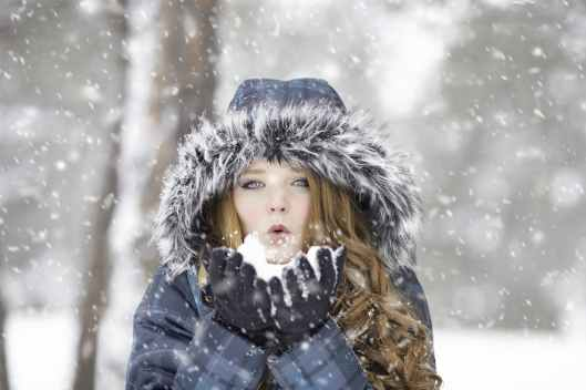 beautiful blowing cold cute