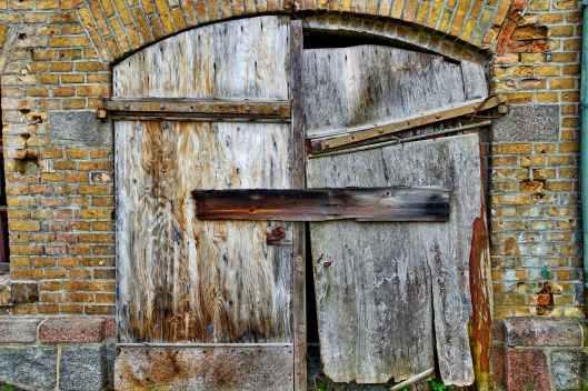 abandoned architecture brick brick wall