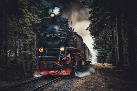 train in railway