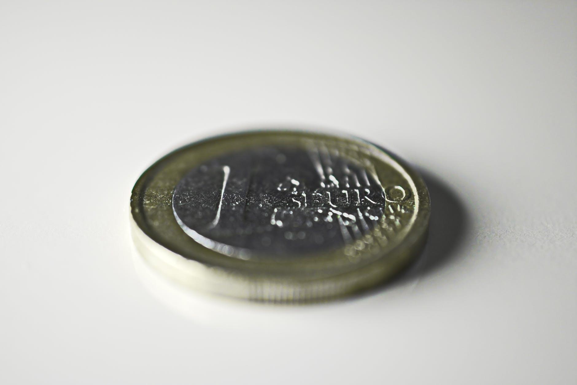silver colored coin